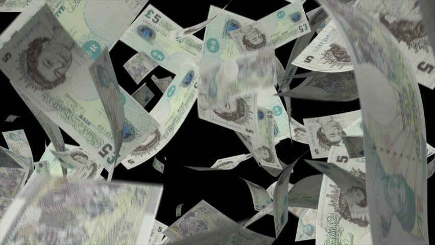 Falling pound sterling money