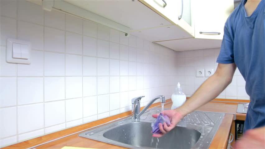 How to clean kitchen tile floor