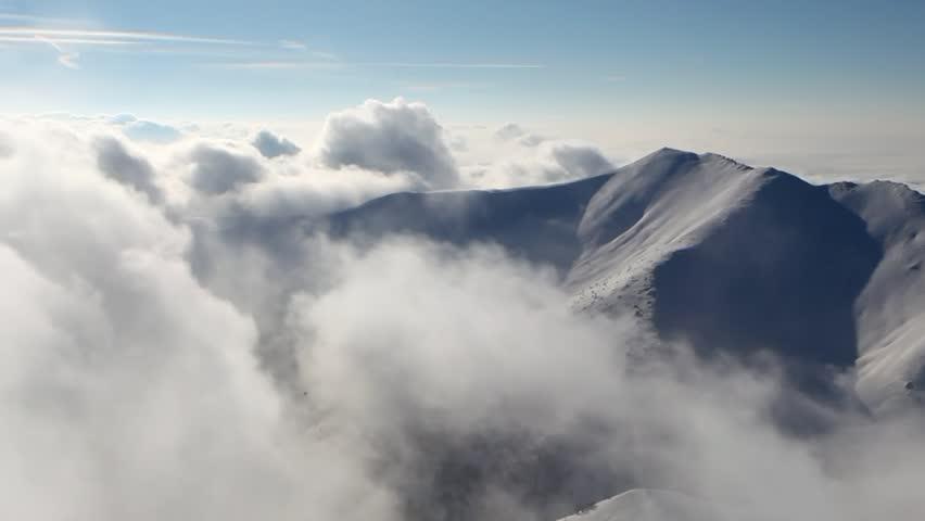 Winter Slovakia mountain - Time lapse | Shutterstock HD Video #8560018