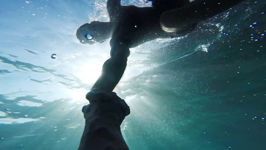 Savior Rescuer Salvation Hand Man Drowning Saved By Lifeguard Underwater Sun Shining Rescue New Hope Second Chance Concept Gopro HD | Shutterstock HD Video #8623723