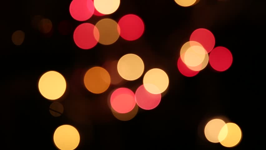 Light Flash Strobe Bokeh Colorful Effect Footage