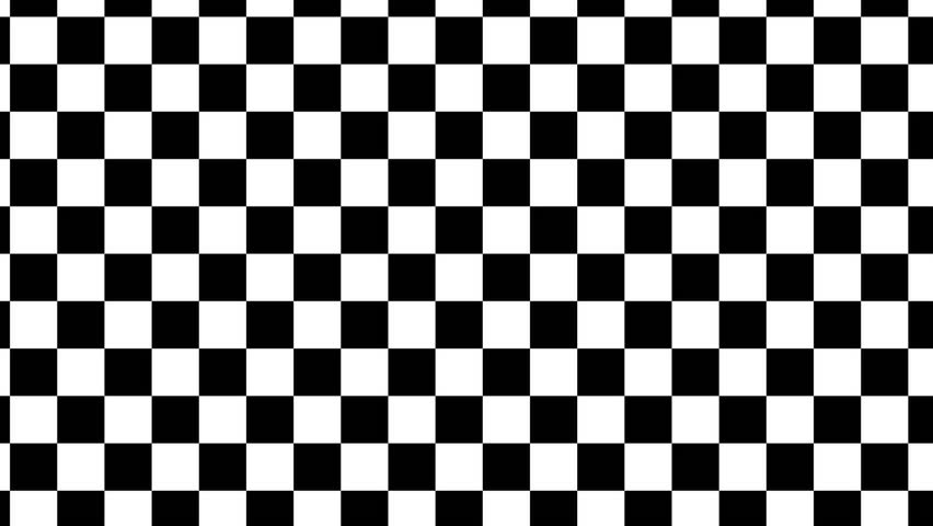 Design Black And White Checkered Arkivvideomateriale 100 Royalty
