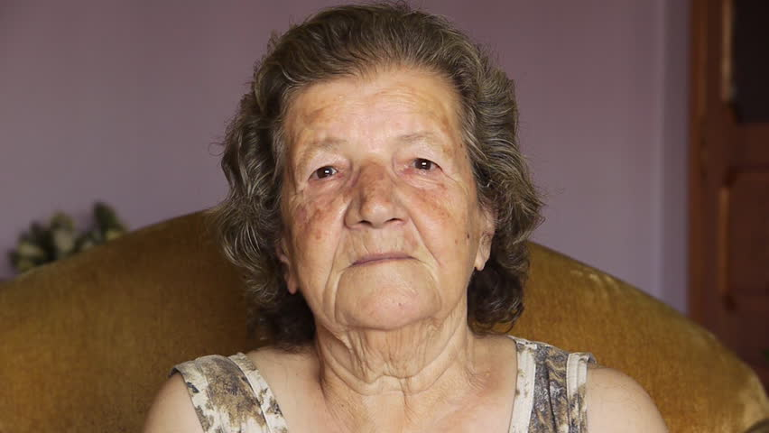 Old retired woman laughing - Retirement Home - Leisure - Relaxation - Humor  | Shutterstock HD Video #866548