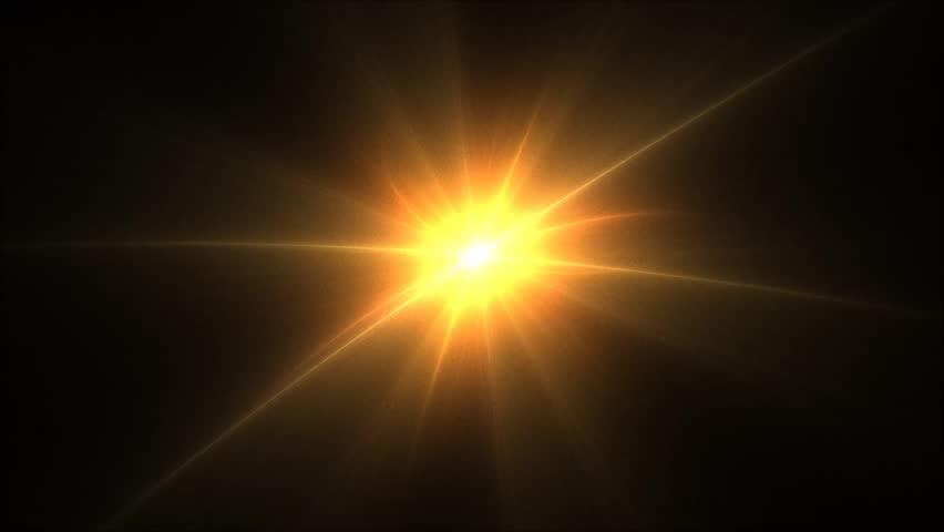 how to create light rays sun beams in maya