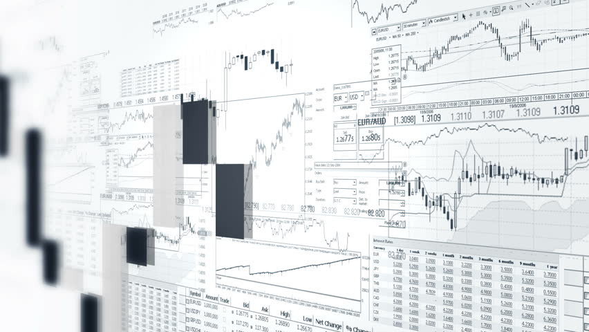 Financial bar graphs. Market Analysis. Business analitics background.