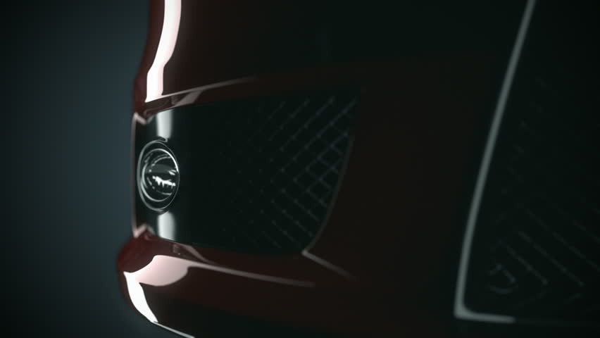 Sport car details. Lights, Air Intake, Mirrors, Spoiler Close-up. | Shutterstock HD Video #8765218