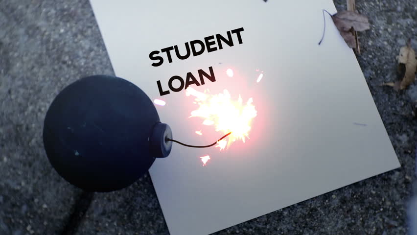 Image result for student loan debt bomb