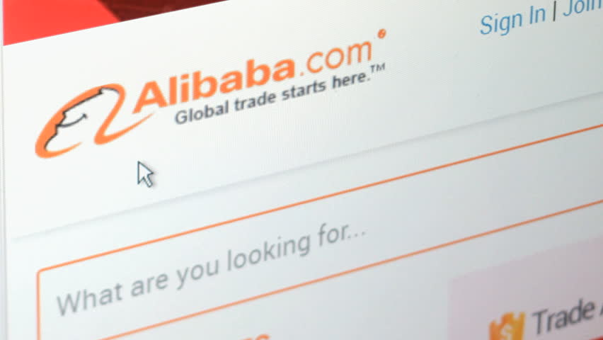 NEW YORK - FEB 11: Browsing Alibaba website on February 11, 2015. Alibaba Group is a Chinese e-commerce company that provides consumer-to-consumer, business-to-consumer and business online sales.