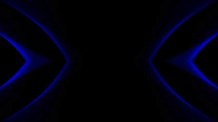 Blue Neon Light,flare Laser Banner Background Stock Footage Video ...