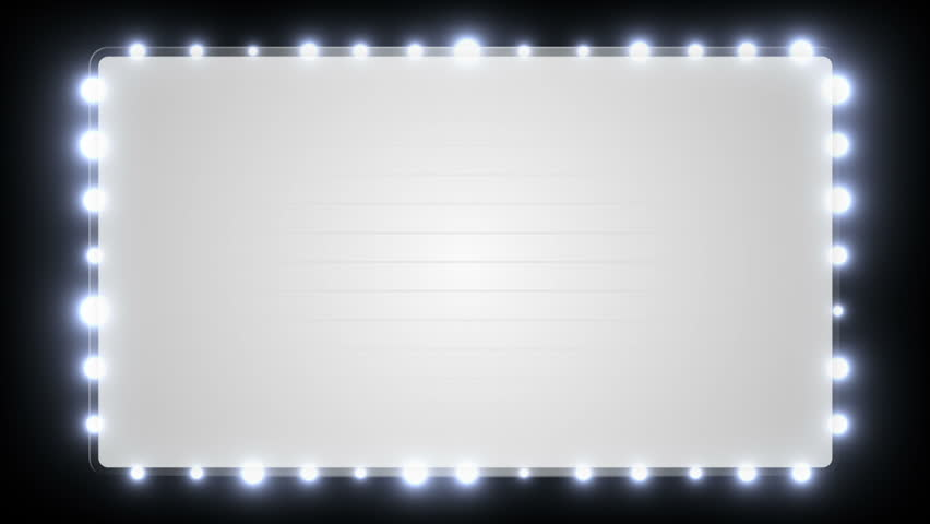 Broadway Lights Marquee Marquee Lights Stock F...