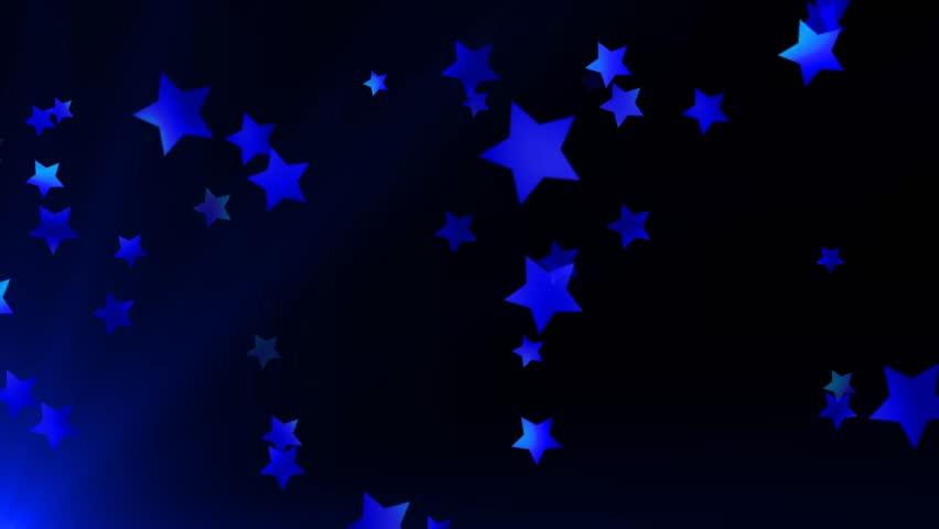 Sparkling Red White And Blue Stars Spiral Spinning Around ...