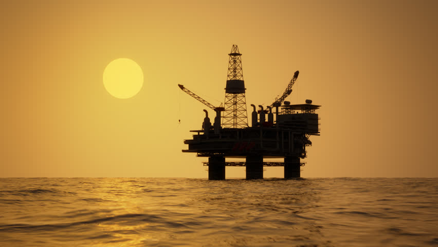 02165 Silhouette of an Oil Stock Footage Video (100% Royalty-free) 8949178    Shutterstock