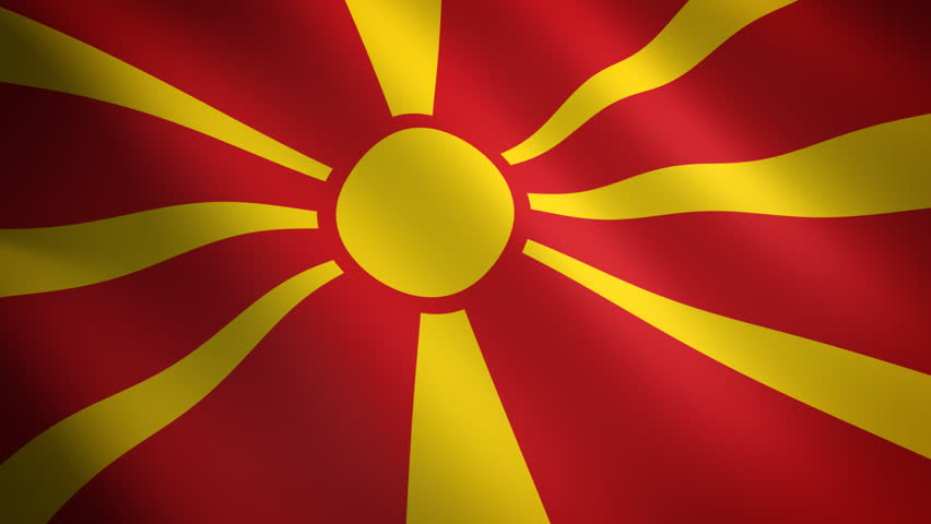 Macedonian Flag - Loop...
