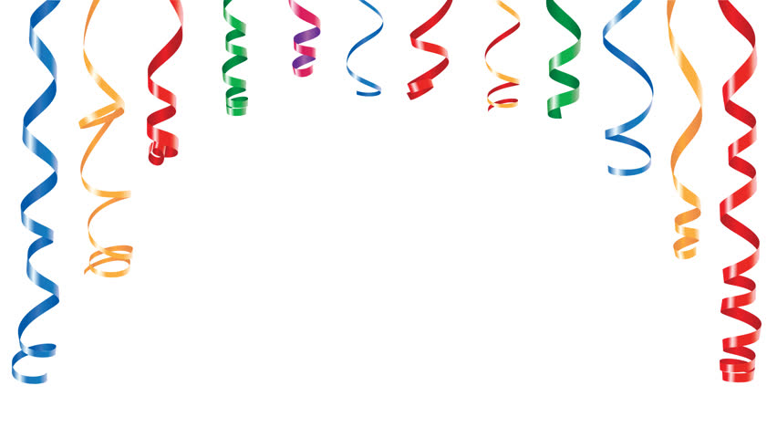 clipart balloons and streamers - photo #44