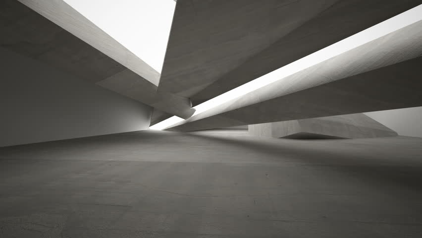 Empty dark abstract concrete room interior