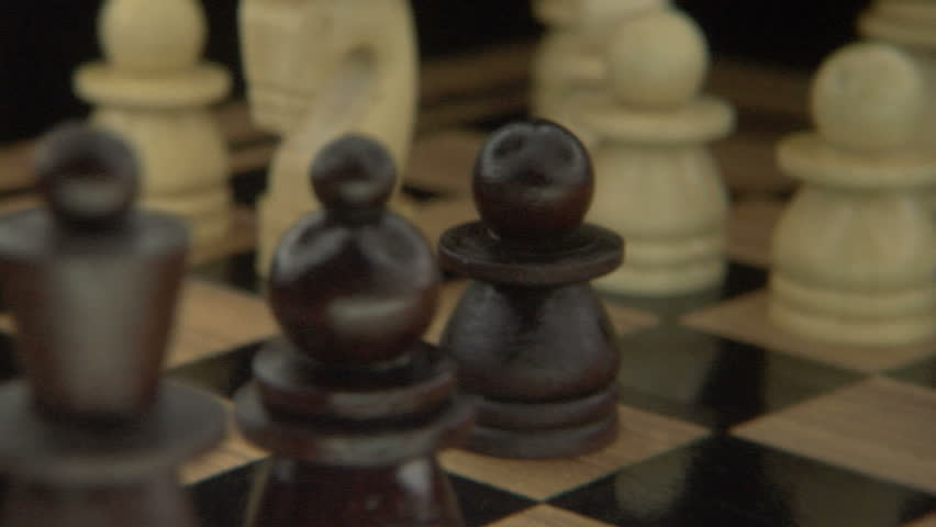 KING TAKES PAWN IN A CHESS GAME | Shutterstock HD Video #900778