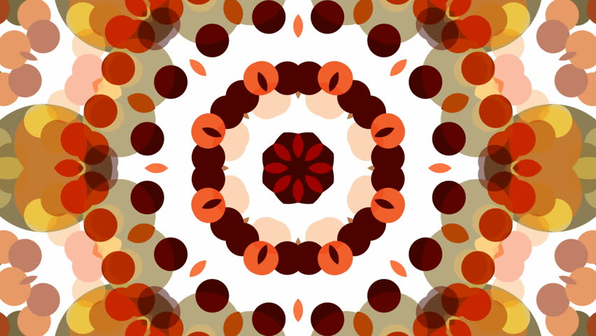 Abstract background animation for your projects. Smooth changing kaleidoscope. Seamless loop. | Shutterstock HD Video #9031348
