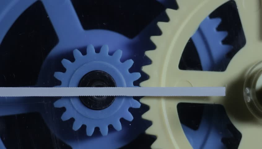 Stock video of colorful plastic gears rotate synchronously old visually similar footage ccuart Choice Image