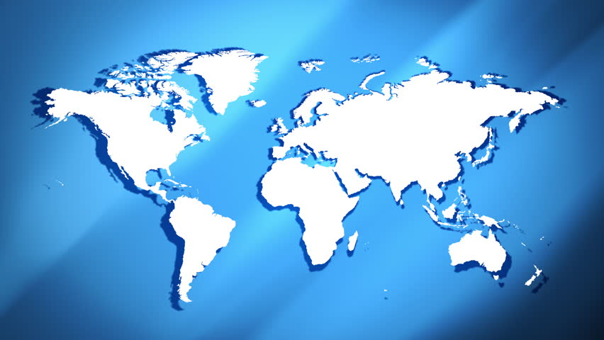 All the countries of the world get together to fill the cut out earth map concept background 4k 4k stock footage clip gumiabroncs Choice Image