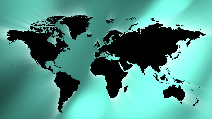 Animation worldmap background about g8 countries stock footage green abstract lights background and world map 4k 4k stock video clip gumiabroncs Gallery