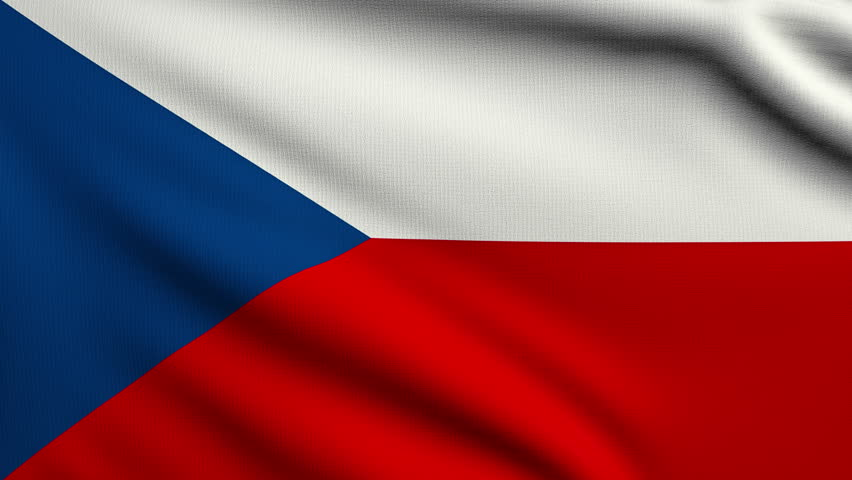 3d Animation Flag of Czech Stock Footage Video (100% ...