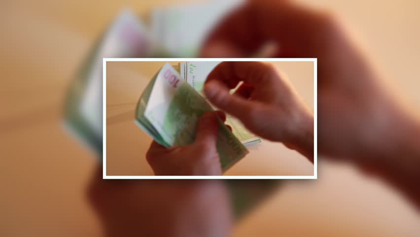 Man counting money.	businessman counting the cash in euro  | Shutterstock HD Video #9188468