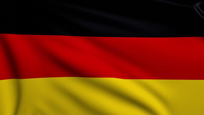 3d Animation Flag of Germany Stock-video (100 % royaltyfri ...