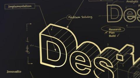A Blueprint for Design Gold Version 4K