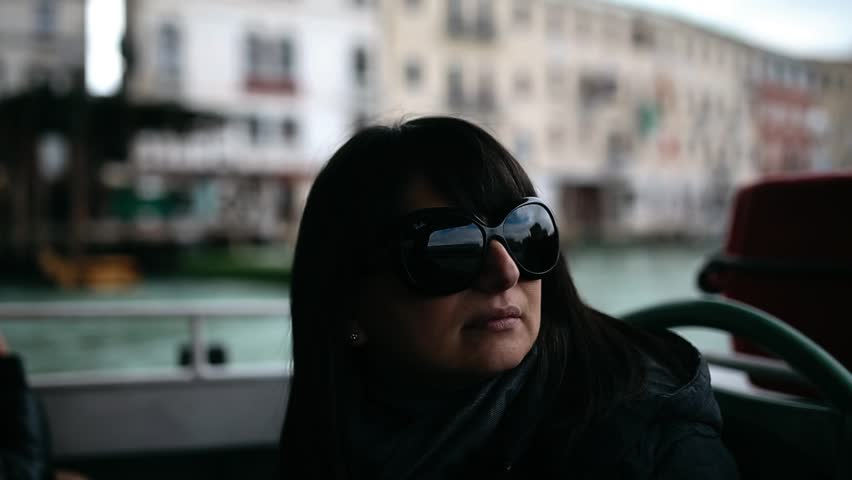 Shot from a boat navigating through Venice lagoon  | Shutterstock HD Video #9283718