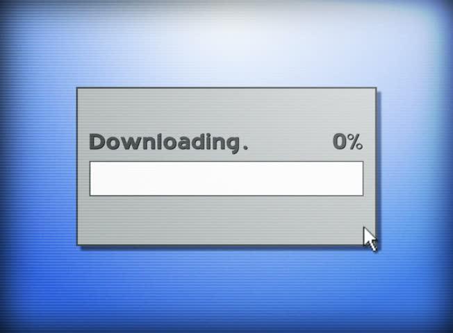 Downloading a file. | Shutterstock HD Video #928708