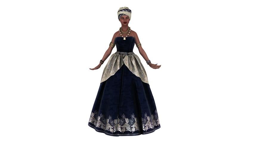 dancing woman animation 2