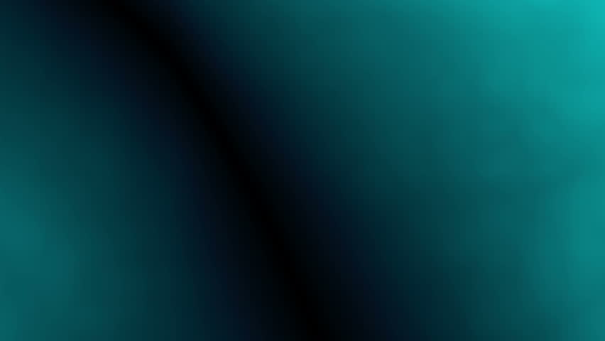Abstract background blue/cyan/green 4K animation. High quality clip rendered on high end computer and graphics card.