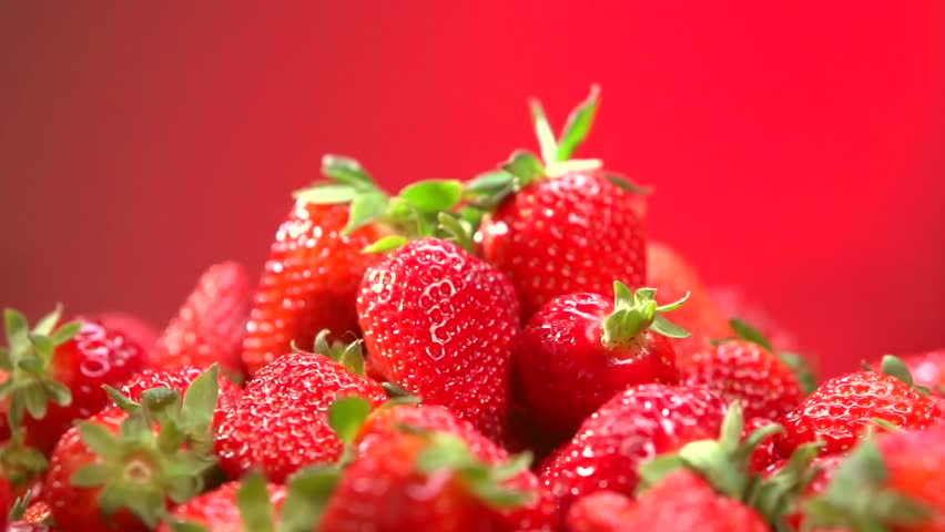 Download Hd Wallpaper Of Strawberry Juice: Fresh Ripe Perfect Strawberry Food Stock Footage Video
