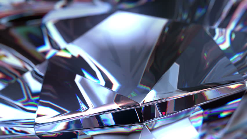 Slowly Rotating Diamond, close up. beautiful 3d animation, seamless loop, 4K. See more footages with diamonds in my portfolio. #9852188