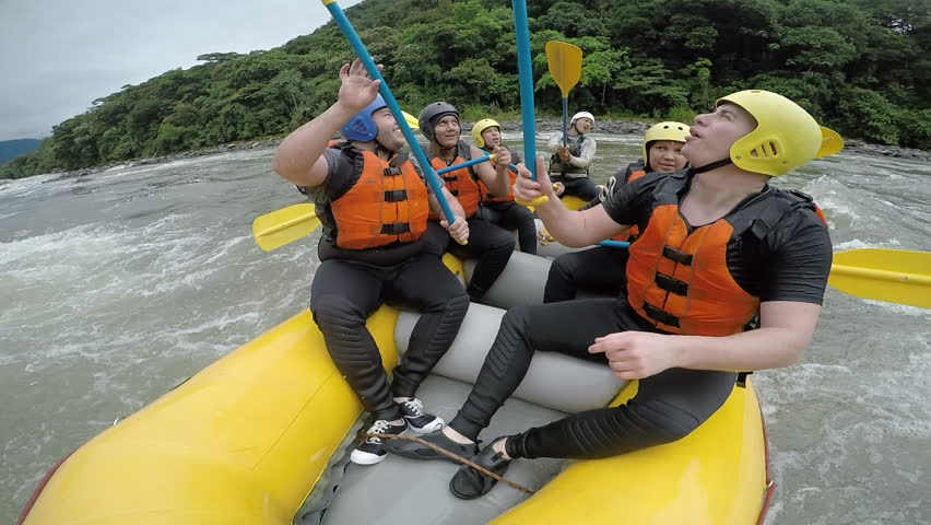 Whitewater Rafting Team Singing Wiki Stock Footage Video (100%  Royalty-free) 9863978 | Shutterstock