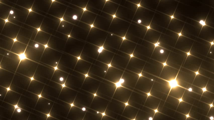 Flood lights disco background. Flood lights flashing. Gold background. Seamless loop. look more options and sets footage in my portfolio | Shutterstock HD Video #9879098