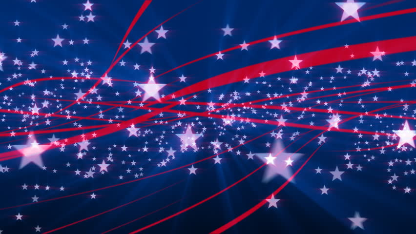 Wallpaper Victory Day Russia Holidays Hd Celebrations: Streamers And Confetti Falling: USA Stars And Stripes