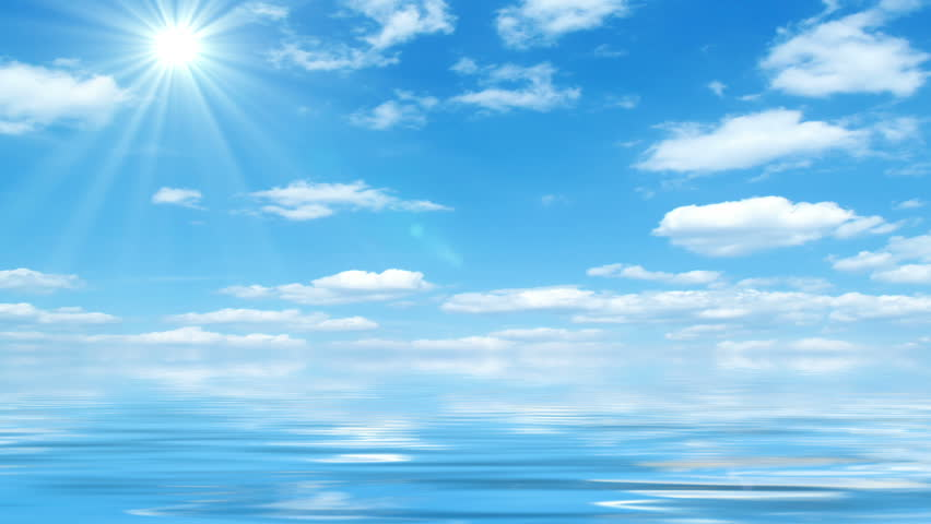 Beautiful Sea On Sunny Day Stock Footage Video (100% ...  |Sunny Beautiful Day