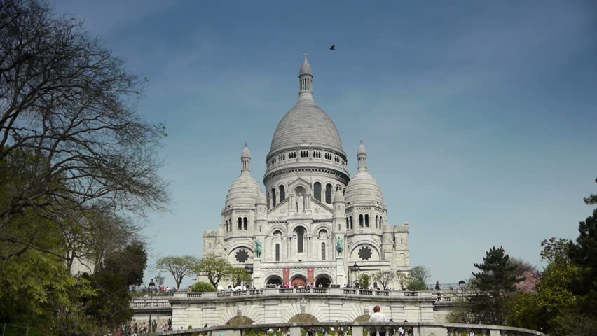 Cathedral Sacre Coeur. Paris, France | Shutterstock HD Video #9922328