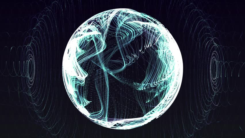 Electric ball animation | Shutterstock HD Video #9943058