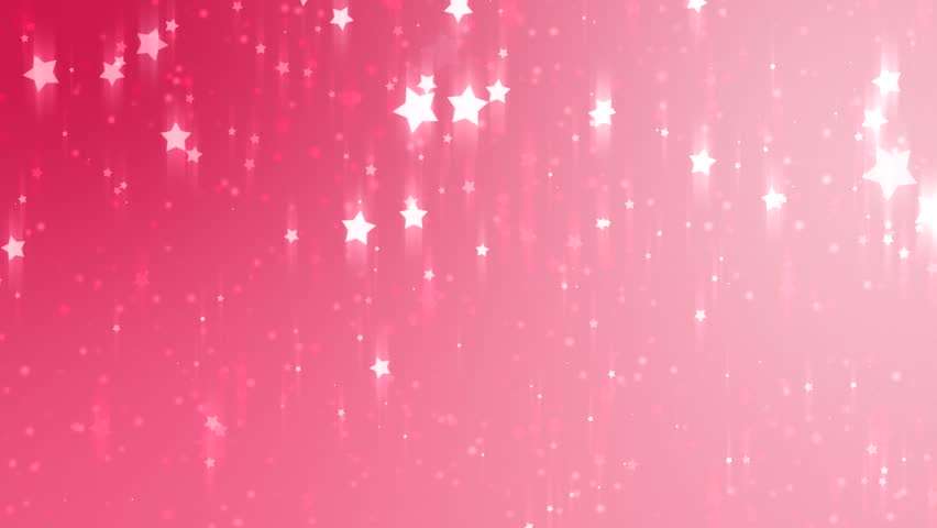 Stars Pink Bright Motion Background, Stock Footage Video ...